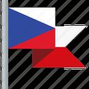 flag, czech republic icon