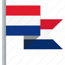 flag, netherlands icon