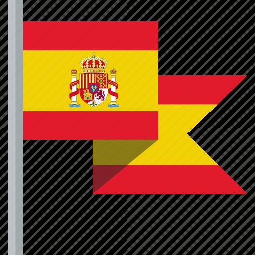 flag, spain icon