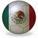 a, ball, commercial, flags, football, game, mexico, private, soccer, sport, world cup icon