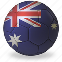 world cup, australia, football, commercial, ball, sport, game, b, flags, private, soccer