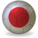 ball, commercial, flags, football, game, japan, private, soccer, sport, world cup icon