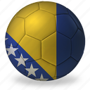 ball, bosnia, commercial, f, flags, football, game, private, soccer, sport, world cup icon