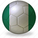 ball, commercial, f, flags, football, game, nigeria, private, soccer, sport, world cup icon