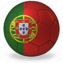 ball, commercial, flags, football, game, portugal, private, soccer, sport, world cup icon