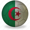 algeria, ball, commercial, flags, football, game, h, private, soccer, sport, world cup icon
