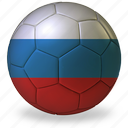 ball, commercial, flags, football, game, h, private, russia, soccer, sport, world cup icon