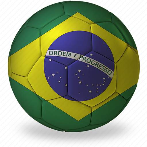 a, ball, brazil, commercial, flags, football, game, private, soccer, sport, world cup icon