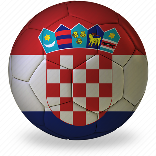 a, ball, commercial, croatia, flags, football, game, private, soccer, sport, world cup icon