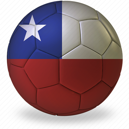 b, ball, chile, commercial, flags, football, game, private, soccer, sport, world cup icon