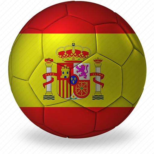 b, ball, commercial, flags, football, game, private, soccer, spain, sport, world cup icon