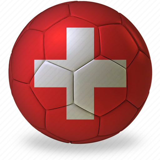 ball, commercial, e, flags, football, game, private, soccer, sport, switzerland, world cup icon