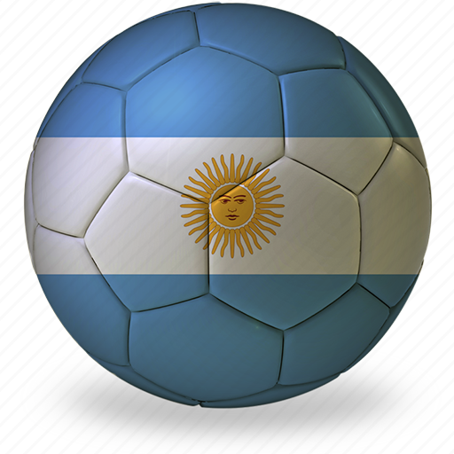 argentina, ball, commercial, f, flags, football, game, private, soccer, sport, world cup icon