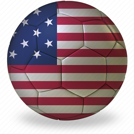 ball, commercial, flags, football, game, private, soccer, sport, usa, world cup icon