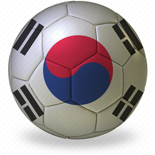 ball, commercial, flags, football, game, h, korea, private, soccer, south, sport, world cup icon