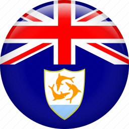 anguilla, country, flag icon
