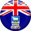 country, falkland, flag, nation icon
