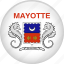 country, flag, mayotte, nation icon