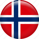country, flag, norway svalbard, nation