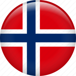 country, flag, nation, norway svalbard icon