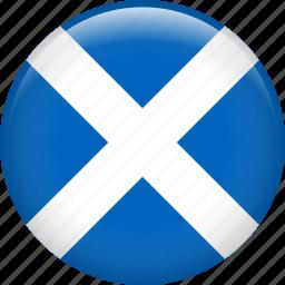 country, flag, nation, scotland icon