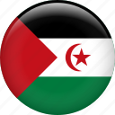 country, flag, nation, western sahara icon