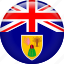 country, flag, nation, turks and caicos icon