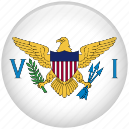 country, flag, nation, virgin icon