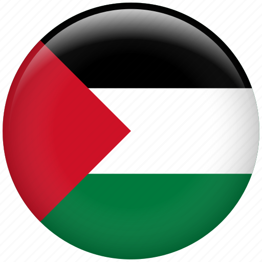 country, flag, nation, palestine icon