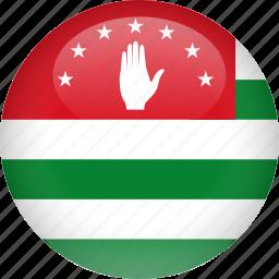 abkhazia, country, flag icon