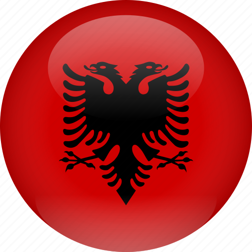 albania, country, flag icon