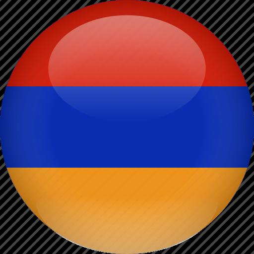 almenia, country, flag icon