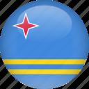 aruba, country, flag