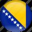 bosnia, country, flag icon