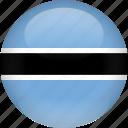 botswana, country, flag