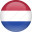 caribbean, country, flag, netherlands icon