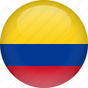 colombia, country, flag icon