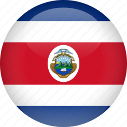 costa, country, flag, rica icon