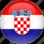 country, croatia, flag icon