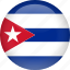 country, cuba, flag icon