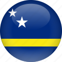 country, curacao, flag
