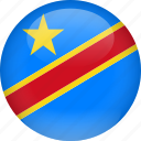 congo, democratic, democratic republic of the congo, republic icon