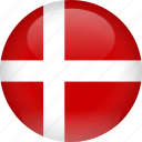 country, denmark, flag