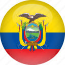 country, ecuador, flag