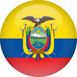 country, ecuador, flag icon