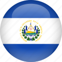 country, el, flag, salvador icon