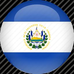 country, el, flag, salvador icon