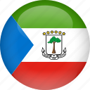 country, equatorial, flag, guinea icon