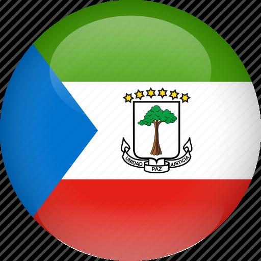 country, equatorial, flag, guinea icon