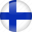 country, finland, flag icon